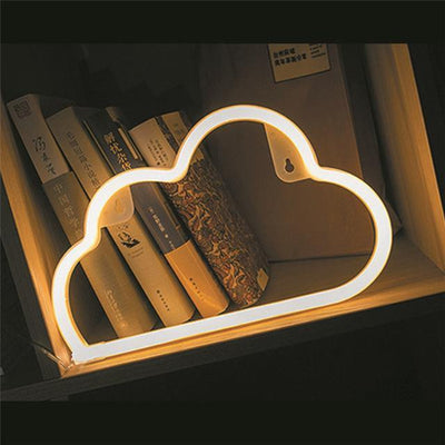 Superstar Sweet Home Neon Wall/Desk Lamp Table/Wall lamp Sun and cloud