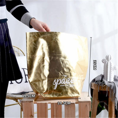 Flutterbag by Jasmine Bergmann Storage Gold/Black Storage bag
