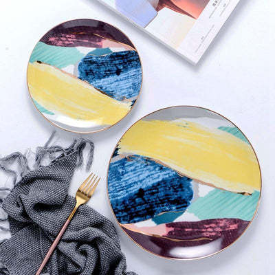 Florence by Celiné Desire Collection Dinnerware Plates