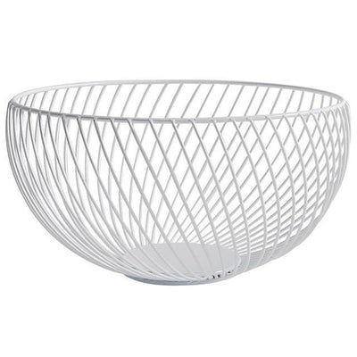 Nordic by Frederick Vaux / Wire Baskets Basket Clear white