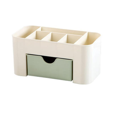 Caroline by Chloé Cosmetic Storage Box Cosmetic storge box Green Makeup Box / M