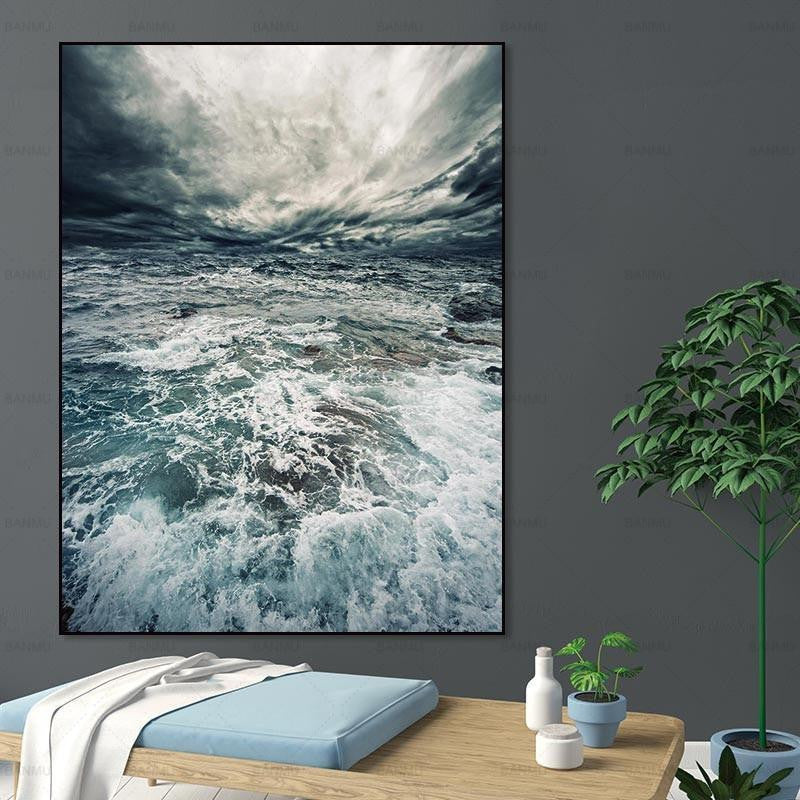Walter Sea Canvas print - Wall Art