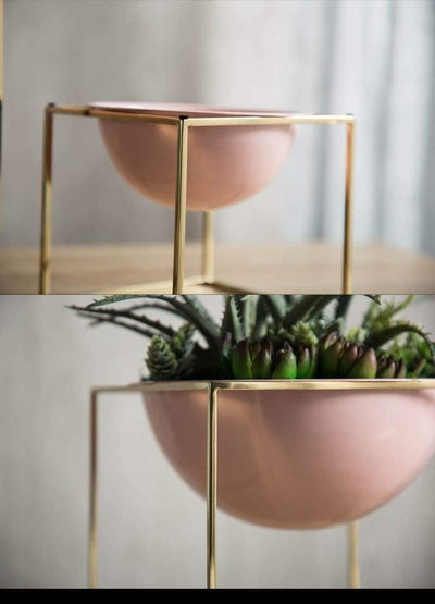 Rose Cube by Henry Jacobsson / Plant Pot Vase