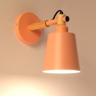 Utan Candle Droplight Wall Lamp Wall lamp Peach