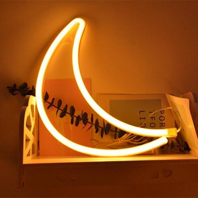 Superstar Neon F7 Table/Wall Lamp Table/Wall lamp Moon