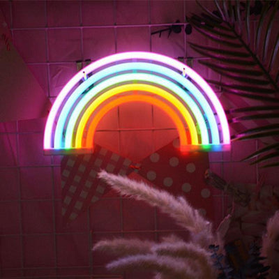 Superstar Neon F7 Table/Wall Lamp Table/Wall lamp Rainbow