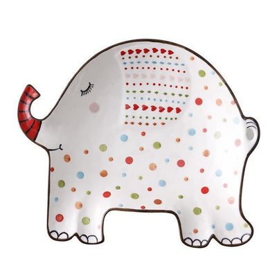Anne Svensson Decor/Kitchen Plate unique and elegant Tray Elephant