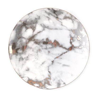 West Point by Celiné Plate Plates Prefect marble / 10 inches