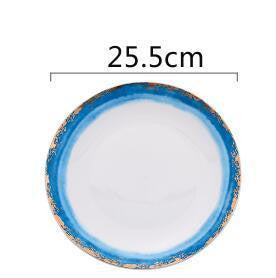 Fabienne Collection Plate Plates Sea / L