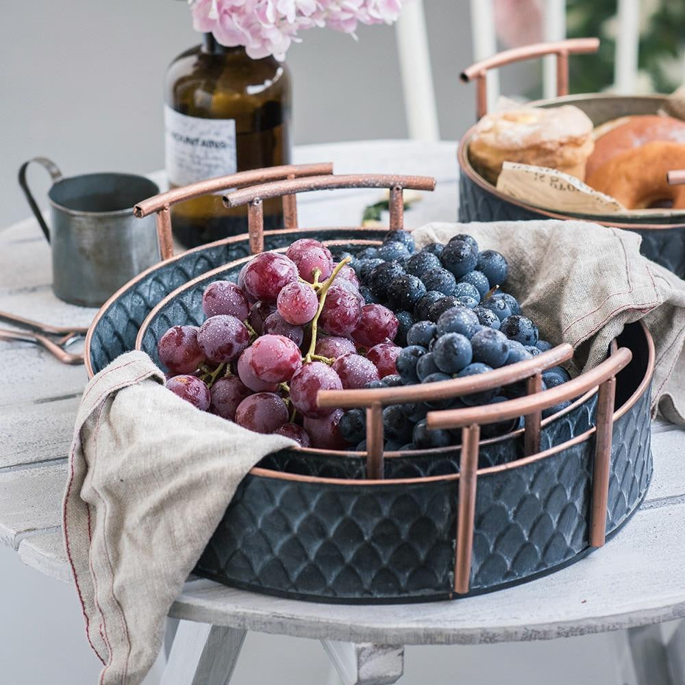 Ruby Winters Metal Storage Basket Basket