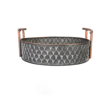 Ruby Winters Metal Storage Basket Basket Medium