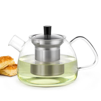 Yomoto Hiroi Glass Tea Set 900ml Kettle