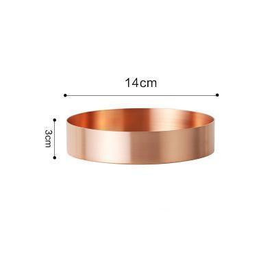 Humphrey by Shields Shelf Shelf Copper / Flat / Ø14cm