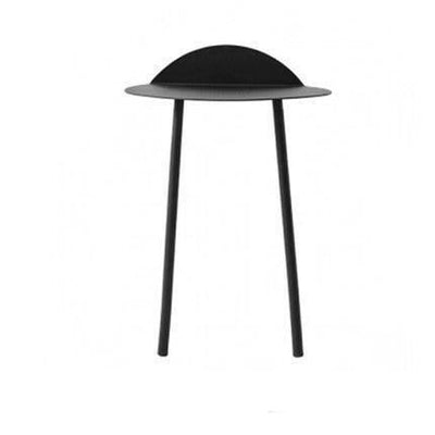 Ironside by Angela Webber Table Table Deep black / Height 70cm