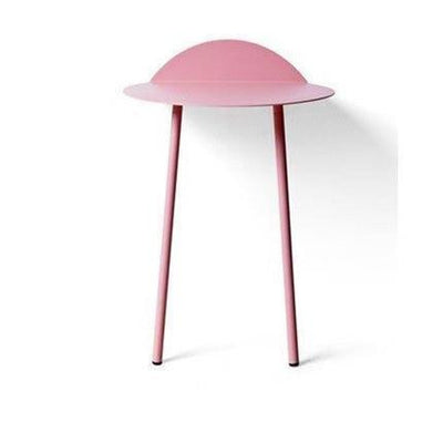 Ironside by Angela Webber Table Table Transparent pink / Height 70cm