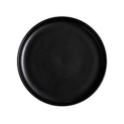 Arcane by Guardian Dinnerware Plates Charocal black / 10 inch