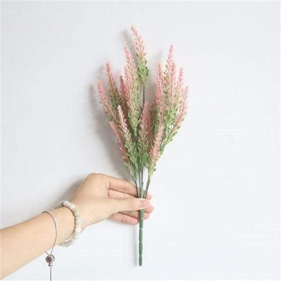 Flowers of Provence by Una Hubmann Artificial Flowers Happy Pink
