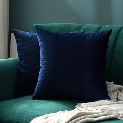 Luxe by Celiné / Pillowcase Pillow Dark Blue