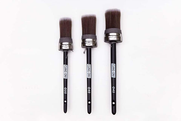 Cling On Oval Brushes