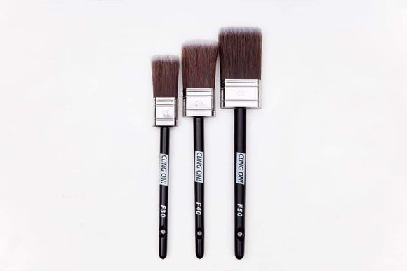 Cling On Flat Brushes