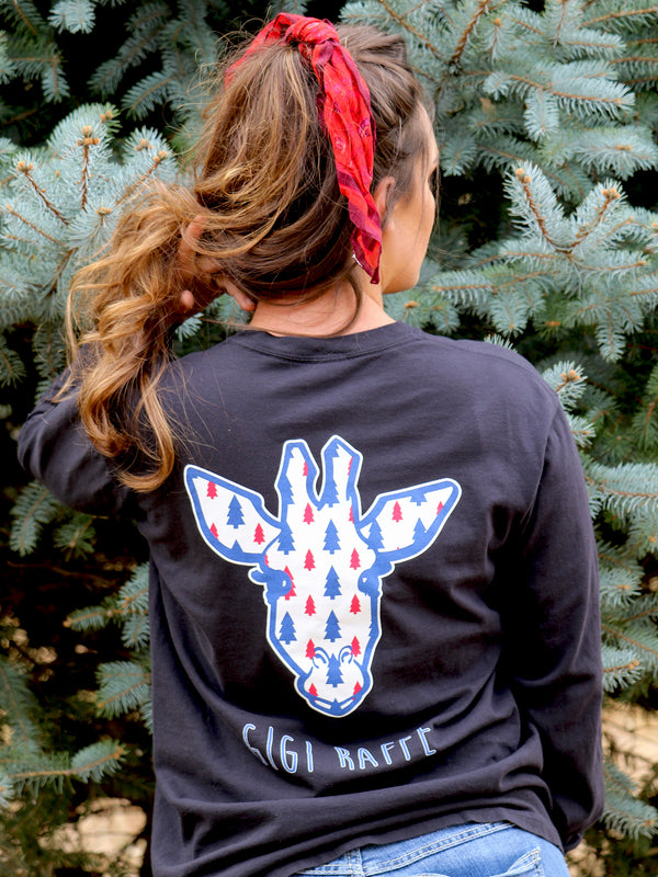 Gigi Pine Tree Logo- Long Sleeve