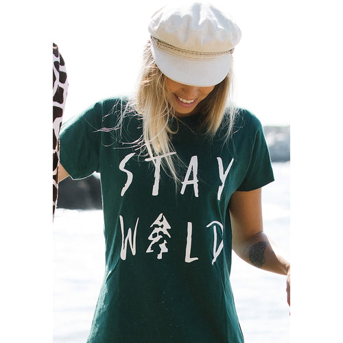 Gigi STAY WILD Ladies Tee