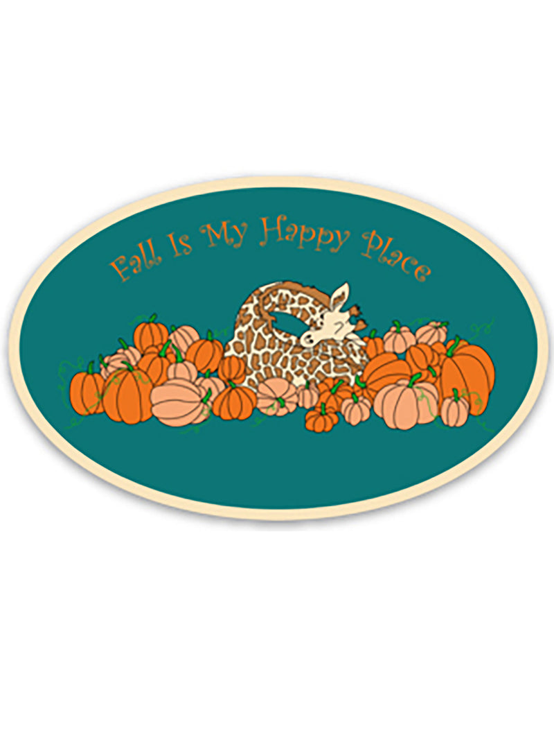 Sticker- Fall Is My Happy Place!