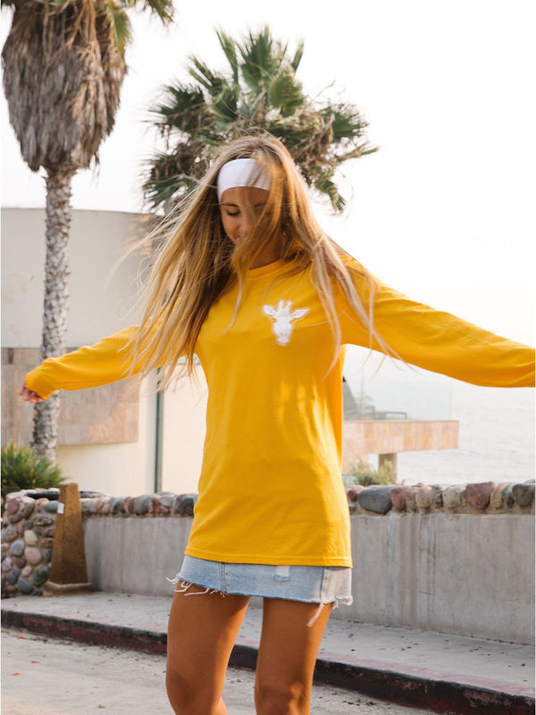 Gigi Sunflower Long Sleeve