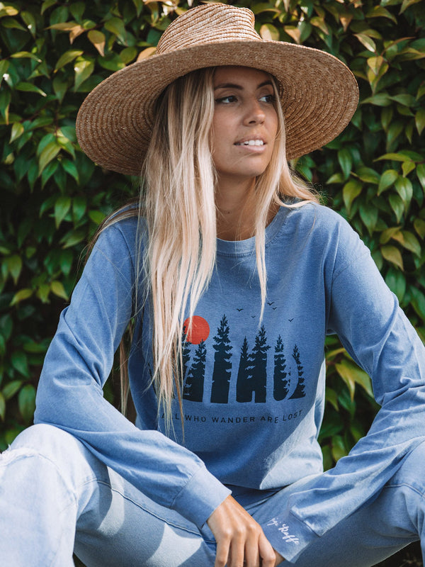 Gigi Blue Jean WILD- Long Sleeve Tee