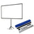 Portable tripod Projector Screen with Shoulder Bag