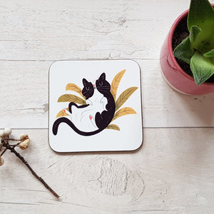 Cat Grass Coaster