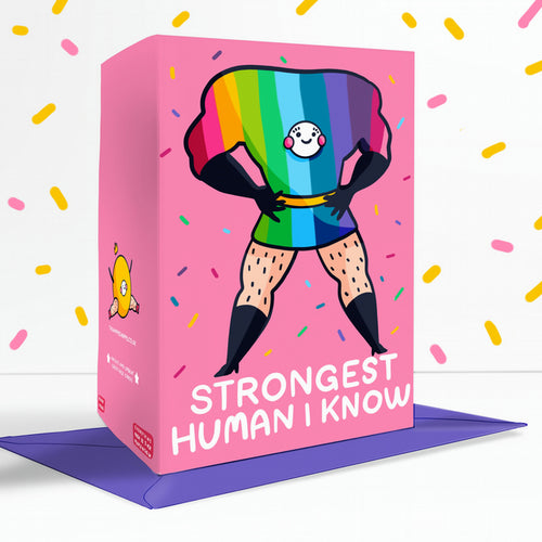 Strongest Human I Know Card