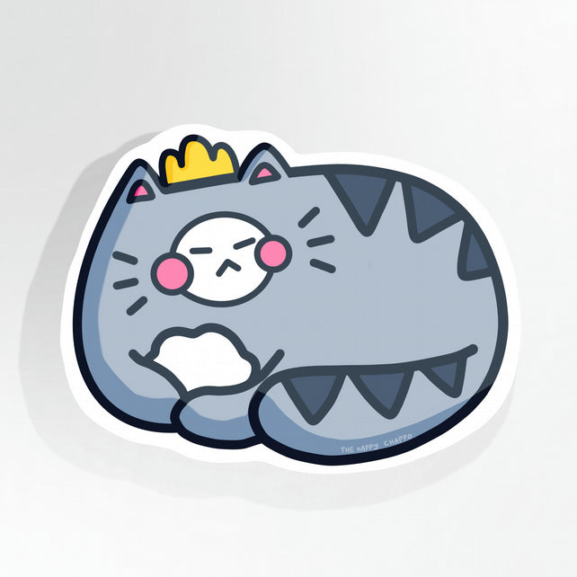 A. Cat 10cm Vinyl Sticker