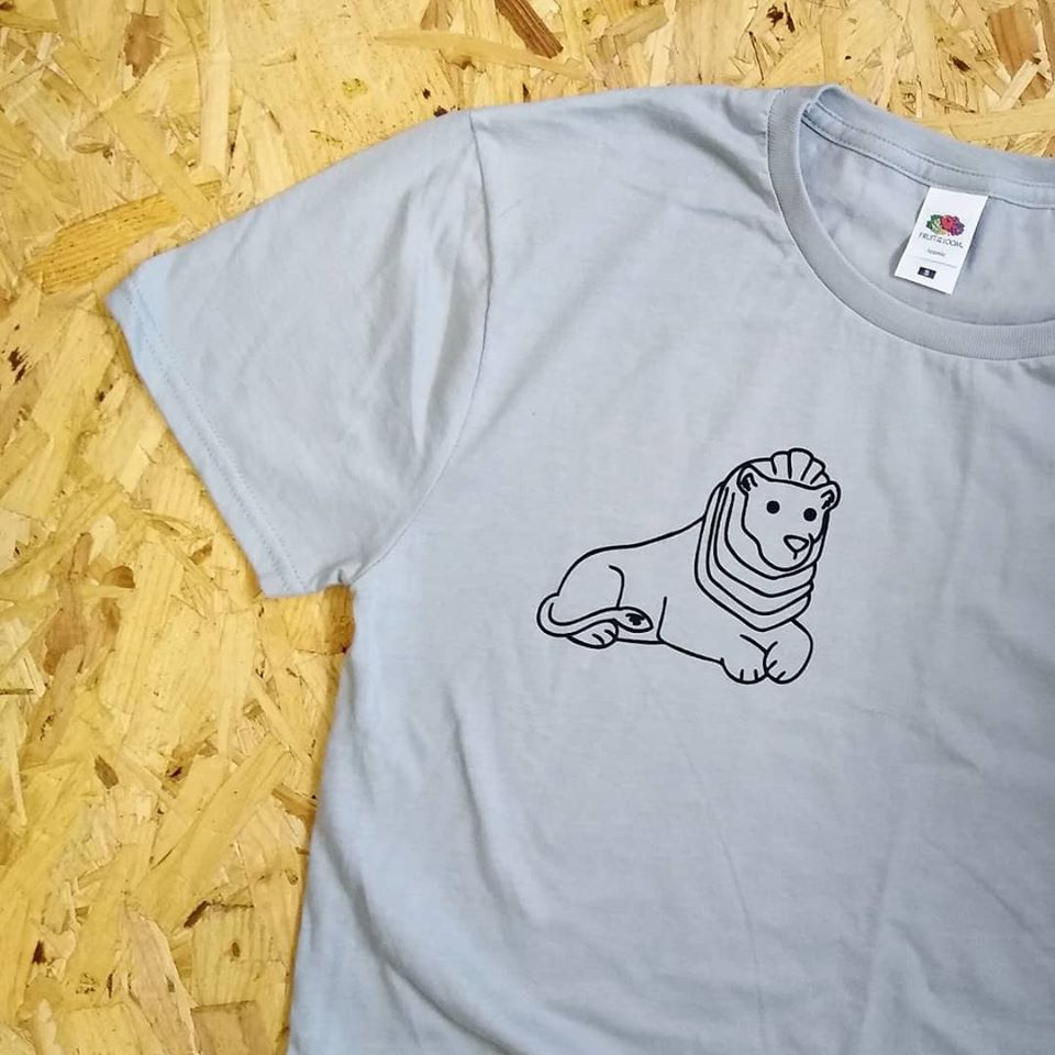Left Lion T Shirt