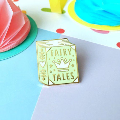 Fairy Tales Book Pin