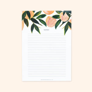 Peach Notepad