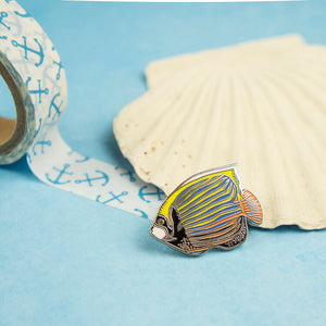 Emperor Angelfish Pin