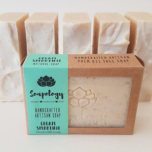 Cream Smoothie Soap