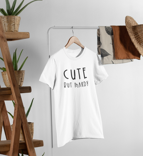 Cute but Mardy Adult T Shirt