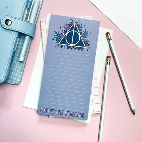 Deathly Hallows Notepad