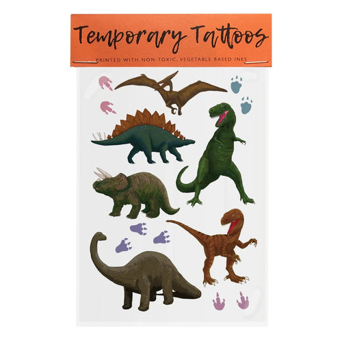 Dinosaurs - Temporary Tattoos
