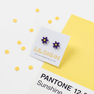 Pasqueflowers Earrings