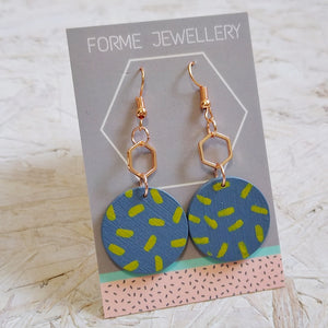 Geometric Shaped Earrings No.10