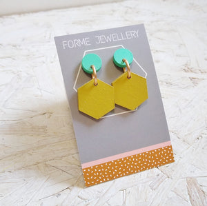 Geometric Shaped Earrings No.7