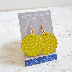 Geometric Shaped Earrings No.4