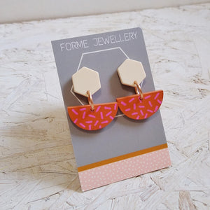 Geometric Shaped Earrings No.6