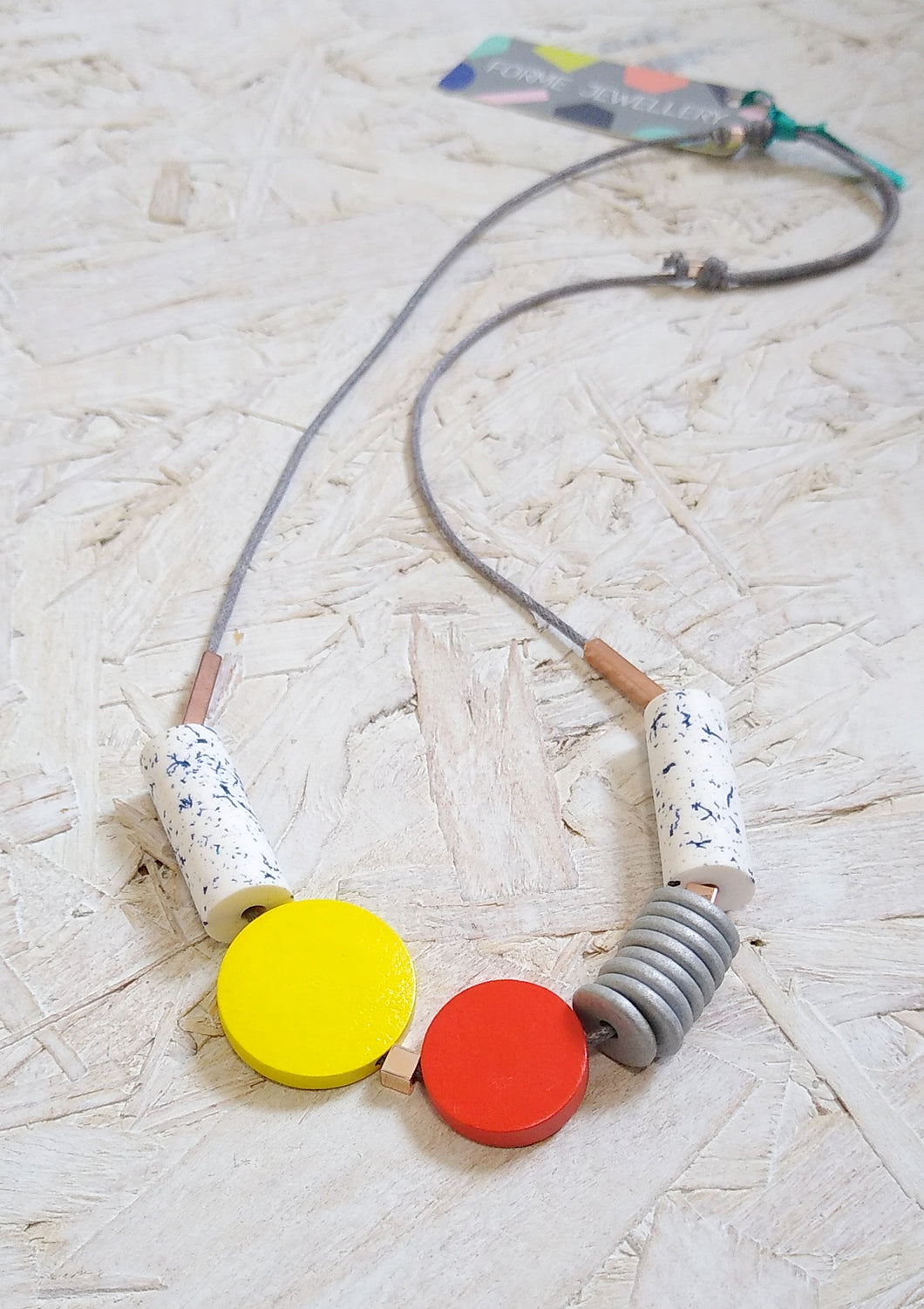 Geometric Shape Necklace No. 3