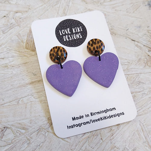 Heart Shaped Earrings No. 2