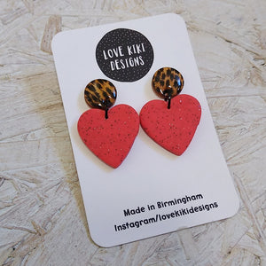 Heart Shaped Earrings No. 1