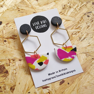 Half Moon Large Earrings No.1